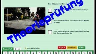 Theorieprüfung / theoretische Führerscheinprüfung - Was Ihr beachten müßt