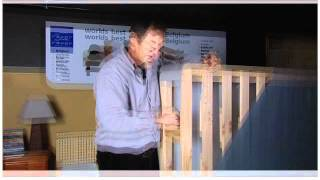 Latex Bedding Company, Revor, Fixed Slat Bed Base