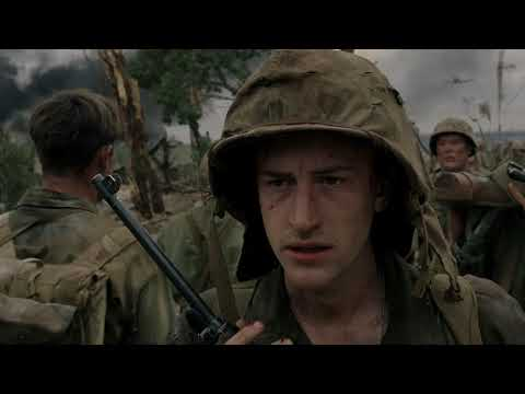 The Pacific: Sledge sees Chuckler and Chesty Puller on Peleliu (1080p)