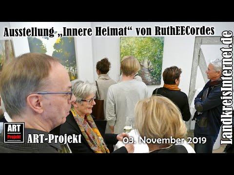 Vernissage Zur Ausstellung Innere Heimat Von RuthEECordes