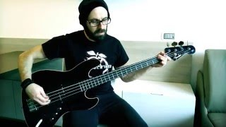 DEVILDRIVER - Daybreak [bass cover]