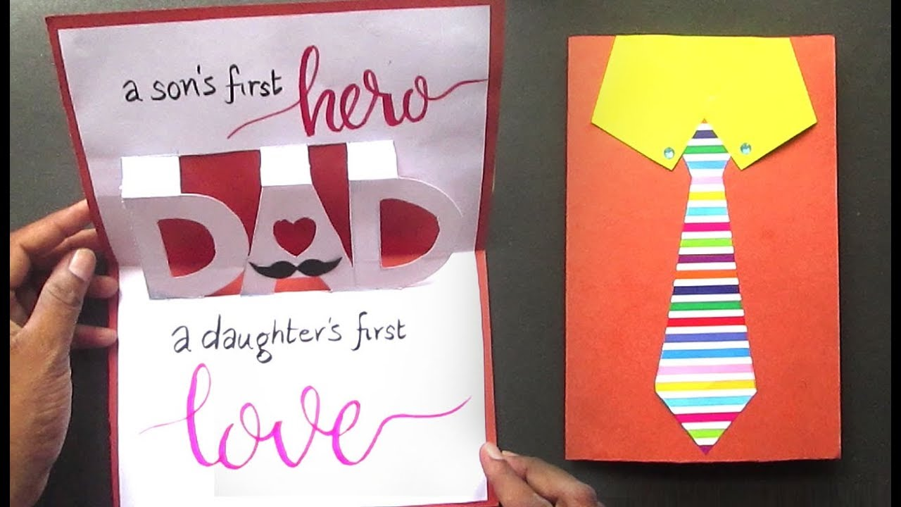 Fathers Day Card Ideas Father S Day Pop Up Card Diy
