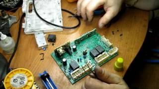 Стиральная машина Индезит, ремонт блока управления(, 2016-07-07T06:02:35.000Z)