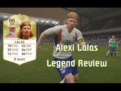 FIFA 16 - Alexi Lalas - Legend Review