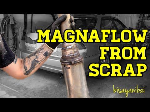 MAGNAFLOW FROM SCRAP SOUND ON HONDA ACURA