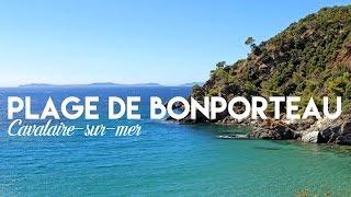 Plage de Bonporteau à Cavalaire-sur-Mer