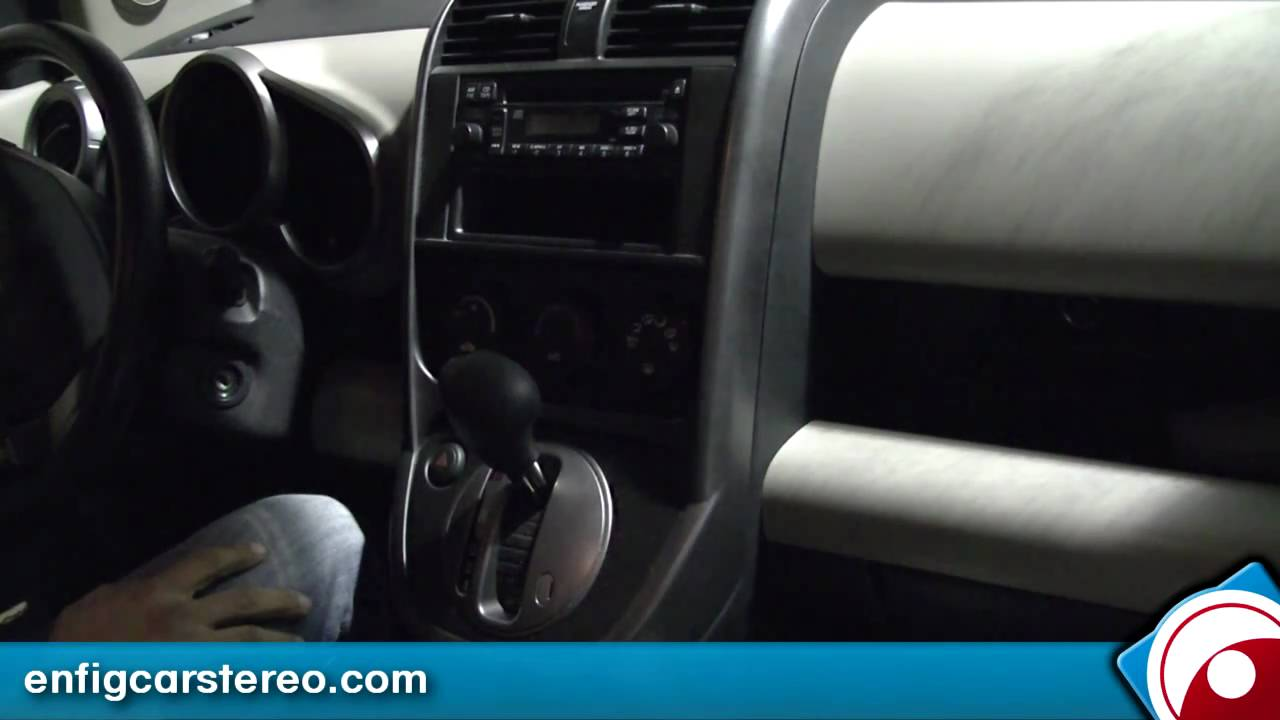 Ipod Iphone Aux Install Amp Demo Honda Element Lx Blitzsafe