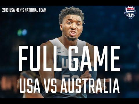 FULL GAME // USA VS AUSTRALIA: GAME 2 AT MARVEL STADIUM
