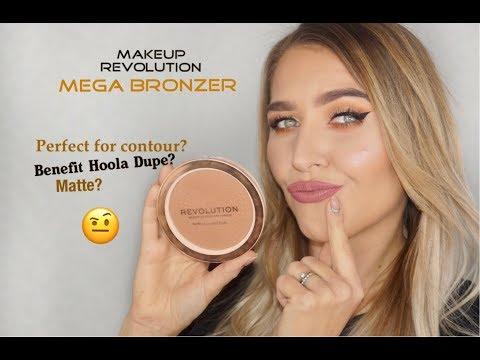 Mega Bronzer Makeup Revolution Dupe For Benefit Hoola Bronzer Youtube