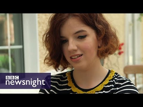 Stacey Dooley meets the young people who vote for the DUP - BBC Newsnight