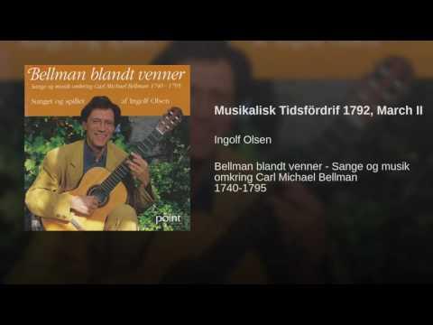 Musikalisk Tidsfördrif 1792, March II