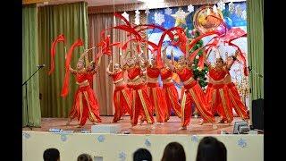 6А класс,  Новый год в Индии.