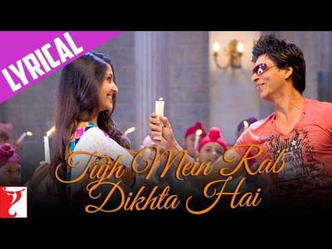 Lyrical: Tujh Mein Rab Dikhta Hai Song With Lyrics  Rab Ne Bana Di Jodi  Jaideep Sahni
