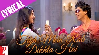 Gambar cover Lyrical: Tujh Mein Rab Dikhta Hai Song with Lyrics | Rab Ne Bana Di Jodi | Jaideep Sahni