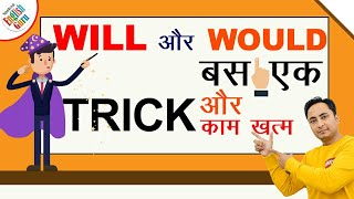 English के Will और Would 100% CLEAR | Will vs Would Grammar Concept, Use & English Speaking Practice
