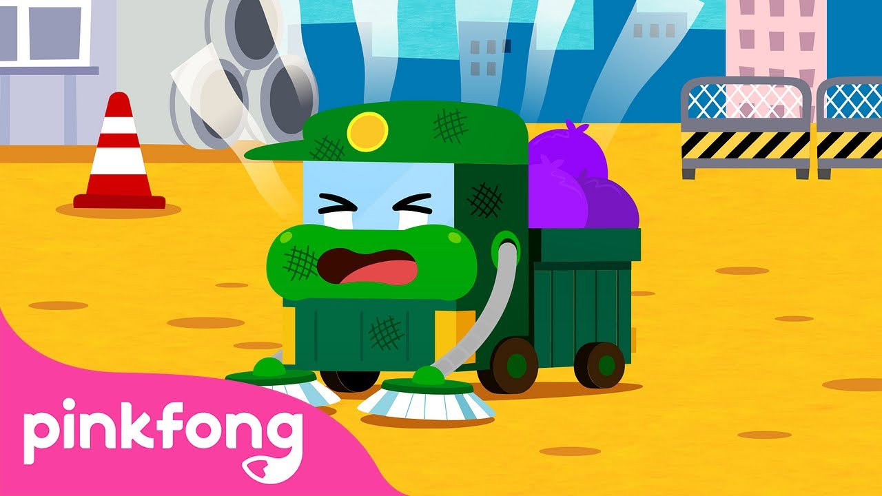 The Worried Garbage Truck 😟 | Car Story Time | Pinkfong Stories for Children