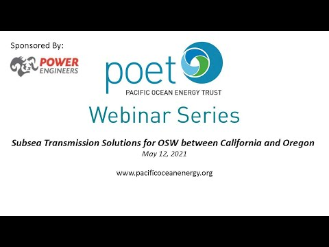 Subsea Transmission Solutions for OSW between CA and OR
