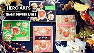 Hero Arts | Thanksgiving Table | Thanksgiving Cards