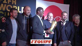 France 98 à la soirée du trophée FIFA - Football - France 98