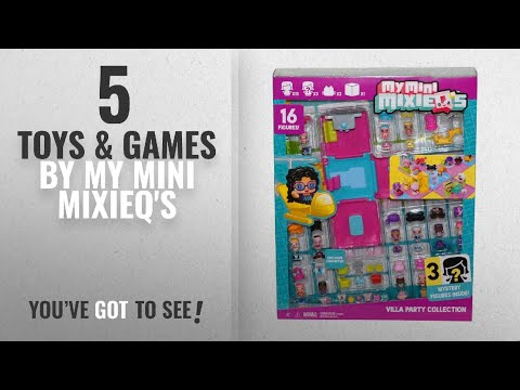 My Mini MixieQs Villa Party Collection With 16 Figures For Ages 4+ Years