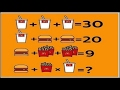 Mcdonalds math problem drink + drink+fry + burger facebook twitter riddle