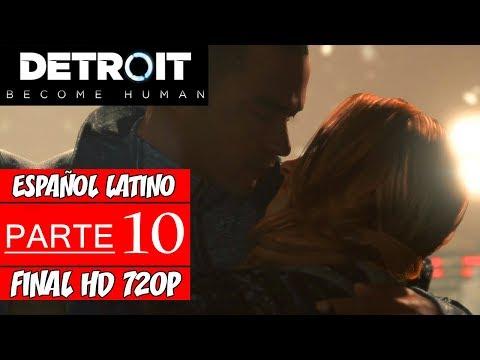 Detroit: Become Human - Walkthrough en Español Latino - Parte 10 Final (Sin Comentarios) - 동영상