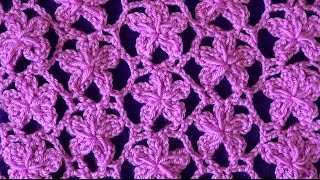 Ажурный узор Цветочки(Ажурный узор Цветочки может быть связан из хлопковой или смесовой пряжи. Узор отлично подходит для ажурных..., 2016-04-26T09:30:00.000Z)
