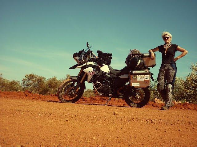 Solo Female Ride Around Australia -Tour De Oz 1/2 -  On Her Bike .com