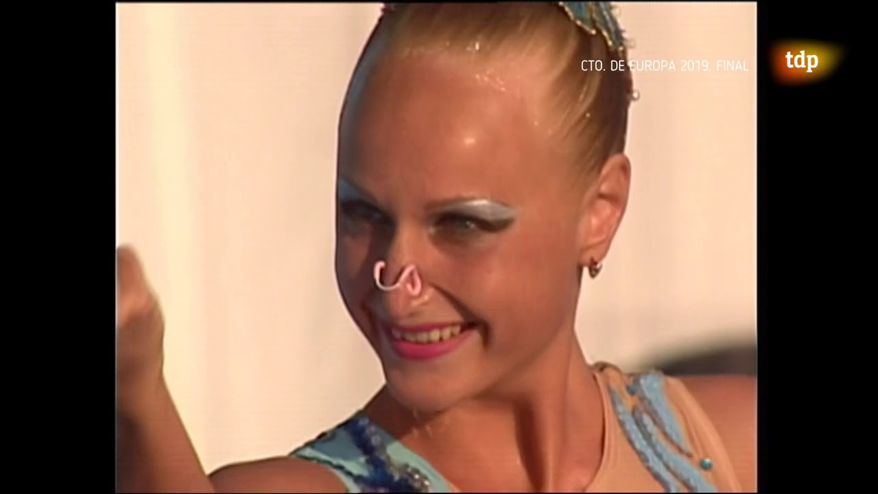 Solo Free Routine FINAL 2005 FINA World Championships Montreal TVE