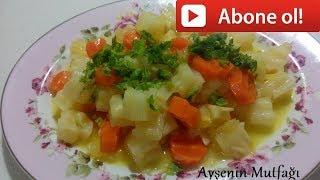 Zeytinyağlı Portakallı Kereviz Tarifi-Ayşenin Mutfağından Yemek Tarifler