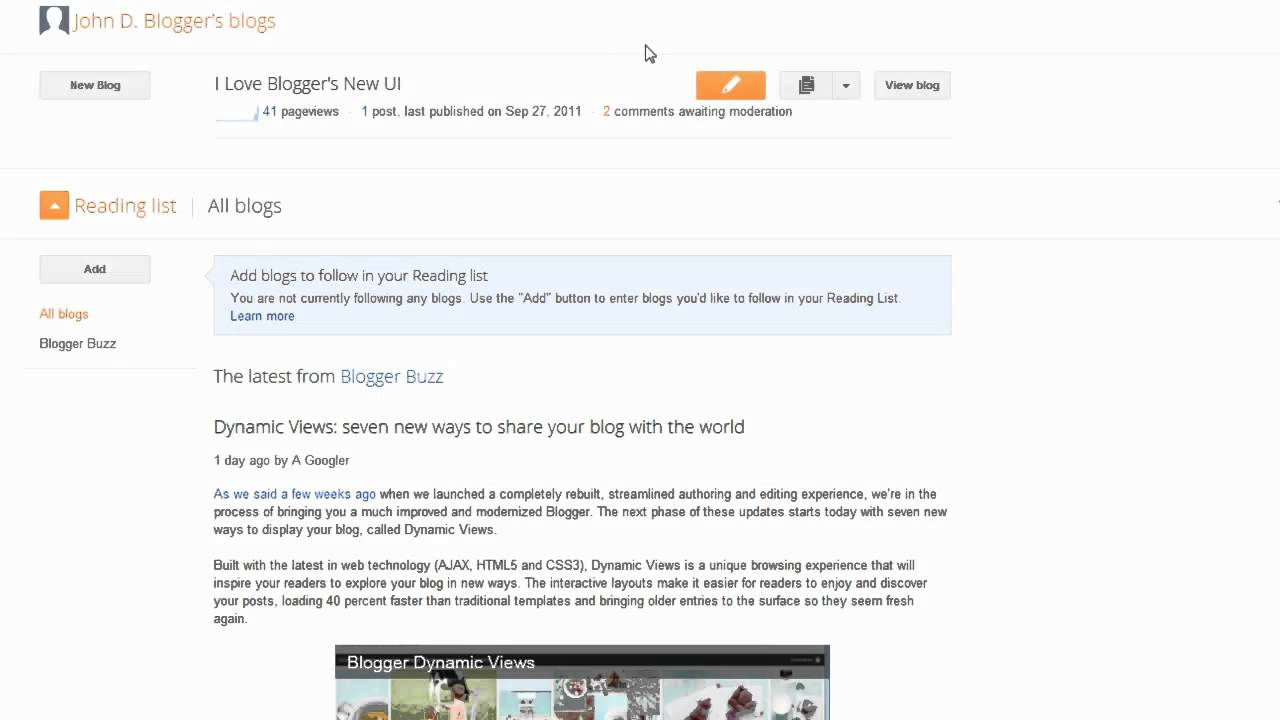 Manage comments on your blog