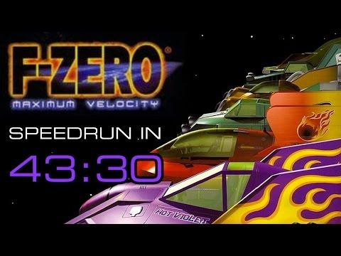 F-ZERO Maximum Velocity Speedrun in 43:30