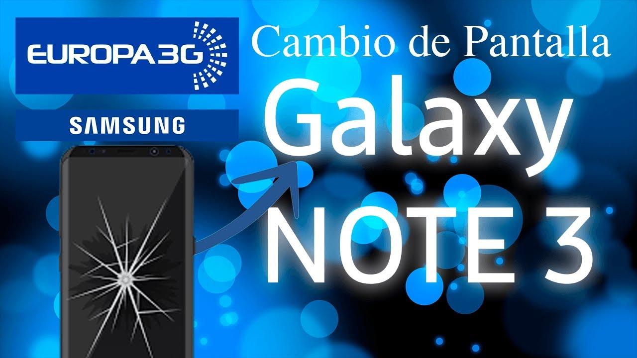 Cristal de reparacion Pantalla para Samsung Galaxy Note 3 Blanco