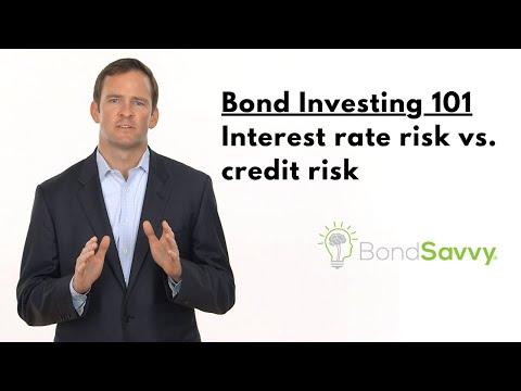 Bond Investing 101: Understanding Interest Rate Risk and Credit Risk