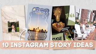 10 MORE Creative Ways To Edit Instagram Stories | Using Only The App (PART 2)