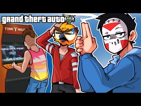 GTA 5 - WE BOUGHT AN ARCADE AND TWO VANOSS'!!!!