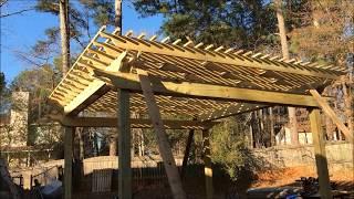 Pergola Roof Lift