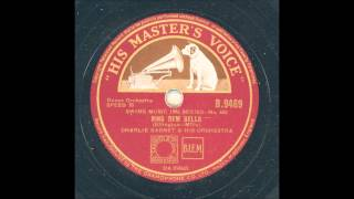 CHARLIE BARNET AND HIS ORCHESTRA - RING DEM BELLS