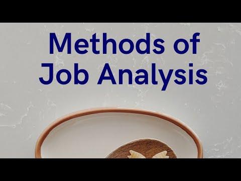 Methods of Job