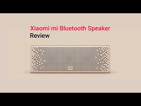 Xiaomi Mi Bluetooth Speaker in-depth review
