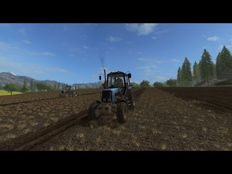 Farming Simulator 17.Село Каменка.Стрим-кооп. №7.