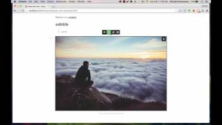 How to use the frontend post editor