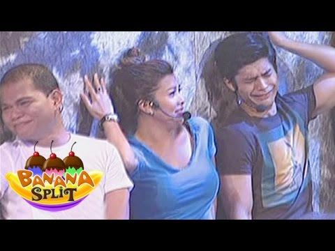 Banana Split Cast Try Pinoy Celebrity Acts Youtube