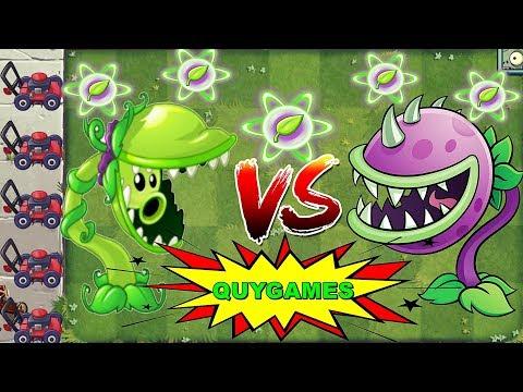 Plants Vs. Zombies 2: Snap Pea Pvz2 Vs Chomper Pvz 2 Max Level Power-Up
