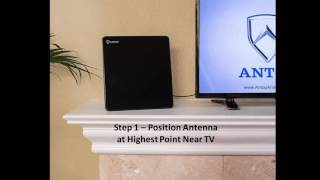 AT 206B Antop Indoor HDTV Antenna Flat Panel