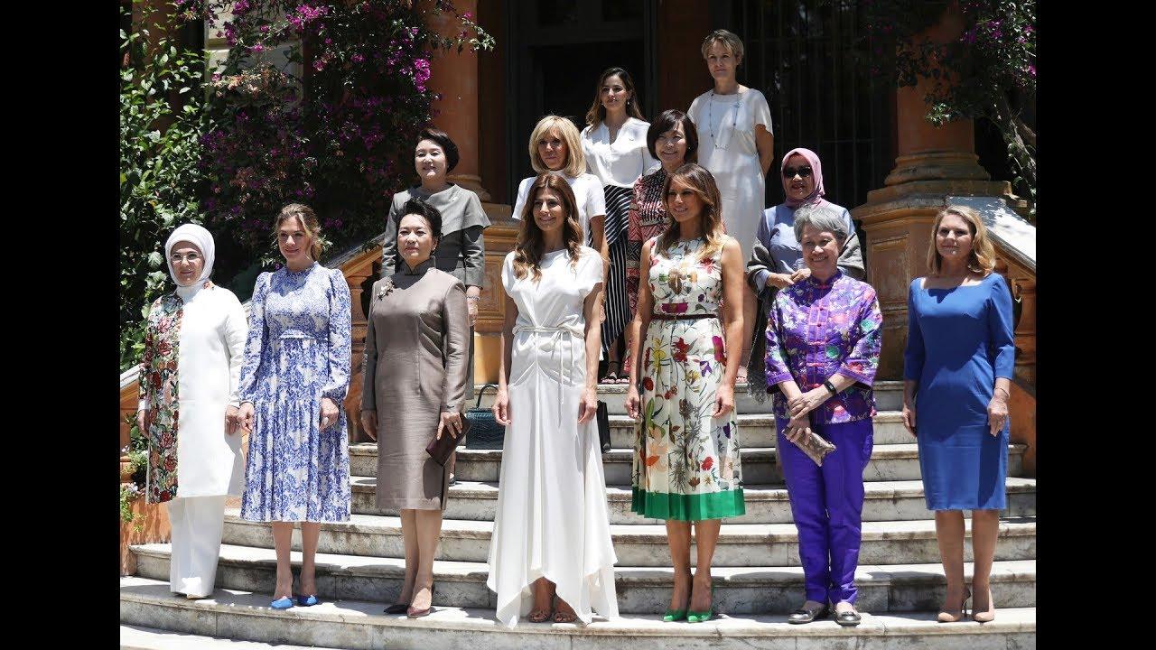 شاهد.. نساء زعماء العالم المشاركين في قمة العشرين