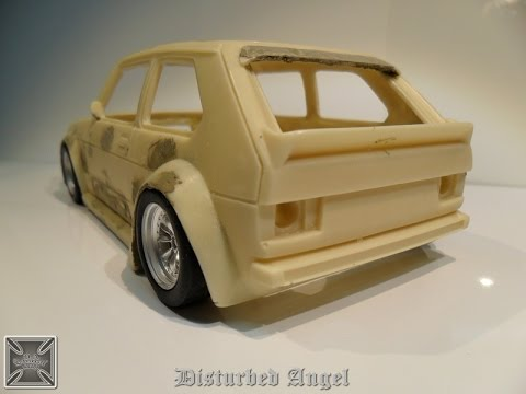 How to make a two-part mold seconda parte 1/43 Wheels Cars resin
