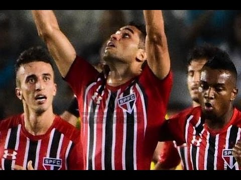 Gol de Alan Kardec, Santos 1 x 1 São Paulo - Paulistão 27/03/2016