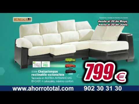 Spot ahorro total tu tienda de muebles youtube for Muebles ahorro total alfafar