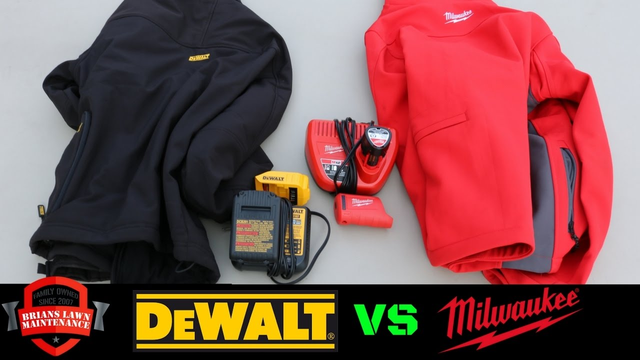 e63538a32edc Milwaukee Vs DeWALT - Heated Jackets - Which Is Better  - YouTube